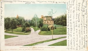 1903-05-23 Observatory and Green, Amherst College, Mass.